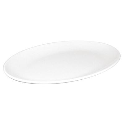 Platos ovalados sin borde de melamina 305mm Kristallon. 12 ud. cd297