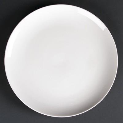Plato llano sin borde 260mm Lumina. 4 ud. cd628
