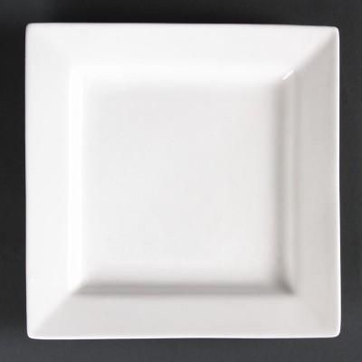 Platos cuadrados 170mm Lumina. 6 ud. cd632