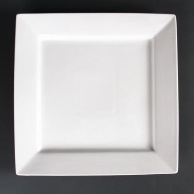 Platos cuadrados 295mm Lumina. 2 ud. cd634