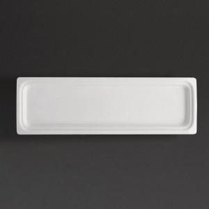 Recipiente Gastronorm tamaño dos cuartos blanco 30mm Olympia cd715