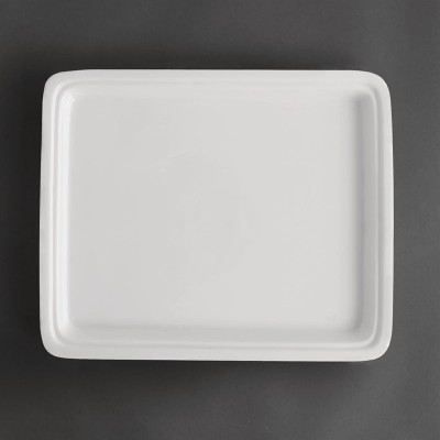 Recipiente Gastronorm tamaño medio blanco 30mm Olympia cd716