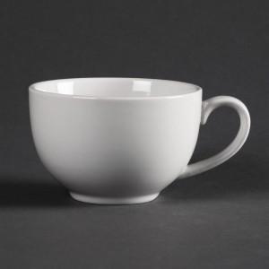 Tazas Elegant blancas Olympia. 12 ud. cd735