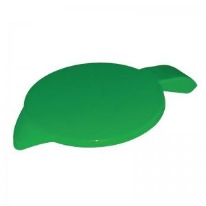 Tapa de policarbonato verde Kristallon ce283