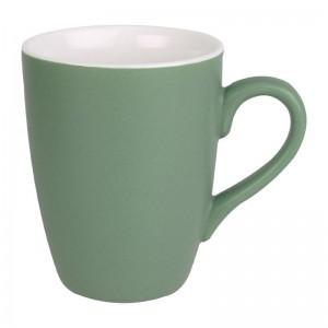 Taza mug Olympia porcelana verde pastel mate 320ml (Caja 6). 6 ud. cs044