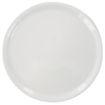Plato pizza Napoli blanco 330mm. 6 ud. da989
