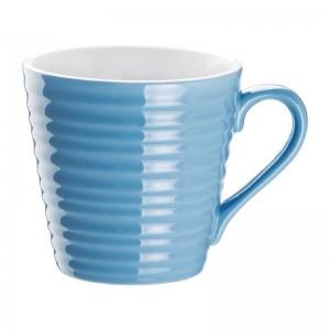 Taza de cafe Aroma Olympia azul- 340ml (Caja 6). 6 ud. dh631
