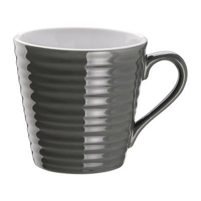 Taza de cafe Aroma Olympia carbon- 340ml (Caja 6). 6 ud. dh634