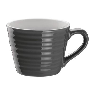 Taza de cafe Aroma Olympia carbon-230ml (Caja 6). 6 ud. dh639