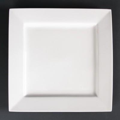 Platos cuadrados 265mm Lumina. 4 ud. dp965