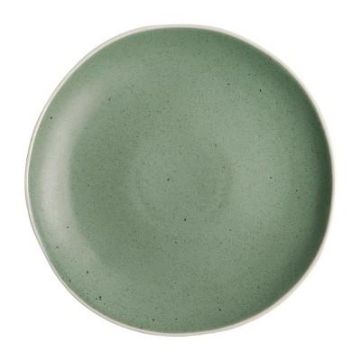 Plato verde Olympia Chia-270mm (Caja 6). 6 ud. dr800