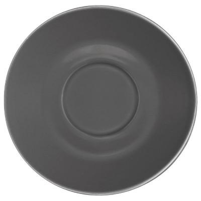 Plato Olympia para tazas de 227ml y 341ml carbon (Caja 12). 12 ud. gl049