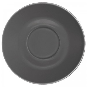 Plato Olympia para tazas de 227ml y 341ml carb¢n (Caja 12). 12 ud. gl049