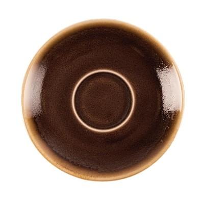 Plato taza cafe Olympia Kiln Corcho 115mm (Caja 6) gp361