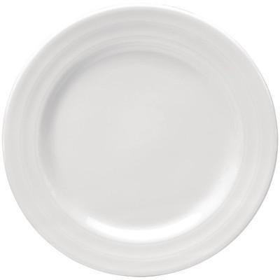 Plato llano Intenzzo porcelana blanca 160mm (Caja 4). 4 ud. gr001