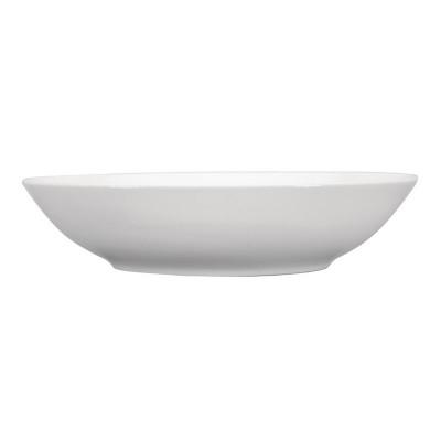 Plato de pasta Intenzzo porcelana blanca 300mm (Caja 4). 4 ud. gr008