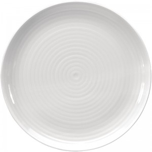 Plato llano Coupe Intenzzo porcelana blanca 310mm (Caja 4). 4 ud. gr009