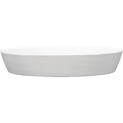 Rustidera ovalada Intenzzo porcelana blanca gr021