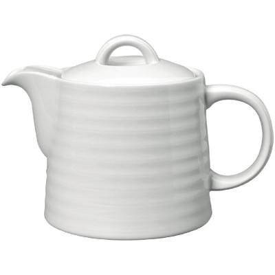 Tetera Intenzzo porcelana blanca 840ml gr036