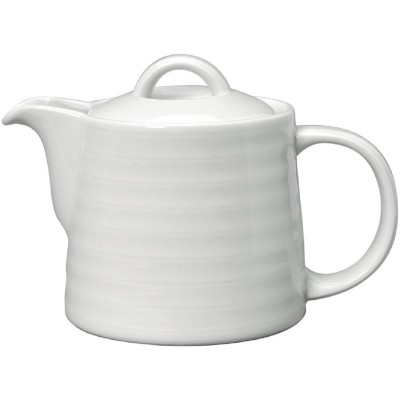 Tetera Intenzzo porcelana blanca 500ml gr037