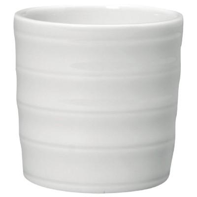 Huevera Intenzzo porcelana blanca 50mm (Caja 6). 6 ud. gr040