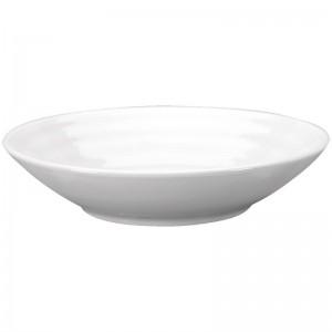 Cuenco tapas Intenzzo porcelana blanca 130x30mm (Caja 4). 4 ud. gr044