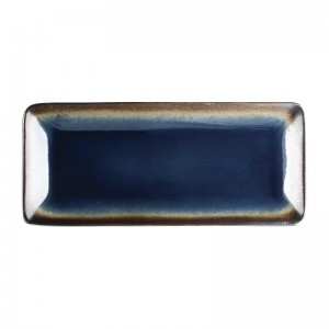 Bandeja rectangular Olympia Nomi azul 245x120mm (Caja 6). 6 ud. hc331