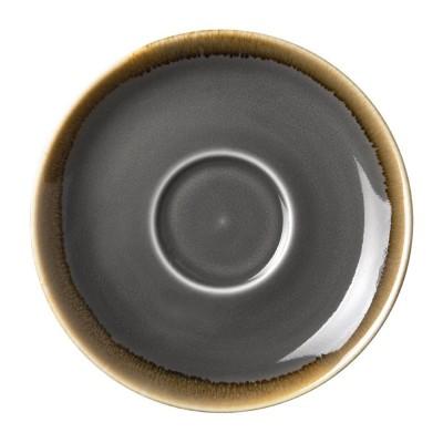 Plato Olympia Kiln Humo para taza cafe HC390 140()mm (Caja 6). 6 ud. hc391