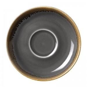 Plato Olympia Kiln Humo para taza desayuno HC392 160()mm (Caja 6). 6 ud. hc393