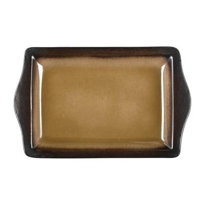 Bandeja rectangular Olympia Nomi amarilla 283x178mm (Caja 6). 6 ud. hc535