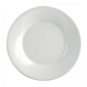Plato llano borde ancho melamina Kristallon 225mm w234