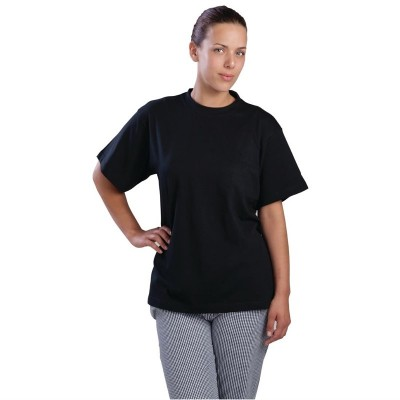 Camiseta negra a295-m