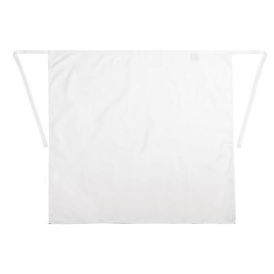 Delantal camarero corto blanco b134