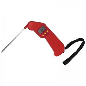 Termometros Easytemp con codigo de color rojo Hygiplas cf913