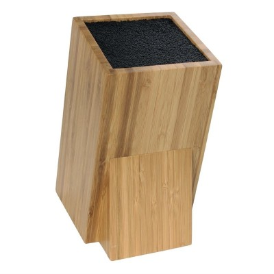 Bloque cuchillero universal de bambu Vogue cp862
