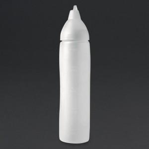 Botella dispensadora salsa Araven anti goteo 500ml cw112