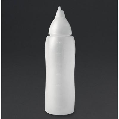 Botella dispensadora salsa Araven anti goteo 700ml cw113