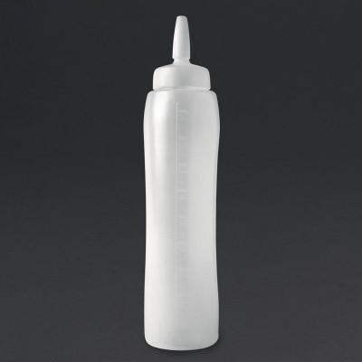 Botella dispensadora salsa Araven 1000ml cw123