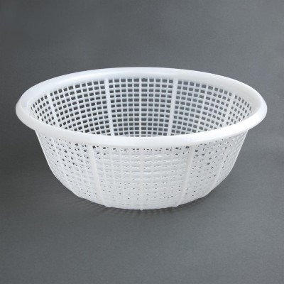 Escurridor redondo Vogue polietileno blanco 380()mm cw352