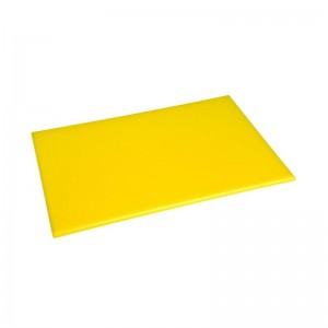 Tabla de alta densidad anti-microbios amarilla Hygiplas f156