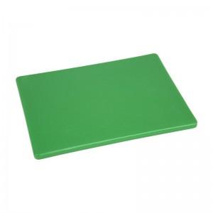 Tabla corte Hygiplas pequeña verde - 229x305x12mm gh793