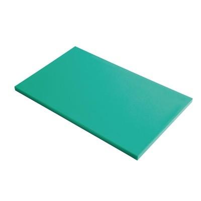 Tabla corte Gastro-M PE alta densidad GN 1/1 15mm verde gn341