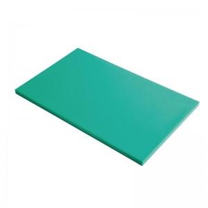 Tabla corte Gastro-M PE alta densidad 600x400x20mm verde gn347