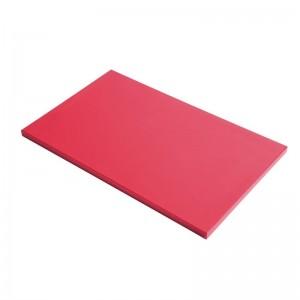 Tabla corte Gastro-M PE alta densidad 600x400x20mm roja gn349