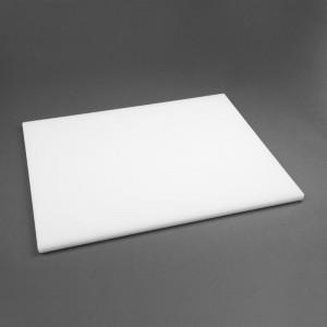 Tabla de cortar Hygiplas de baja densidad blanca-600x450x20mm hc882