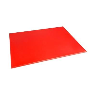 Tabla de corte de alta densidad grande roja Hygiplas j011