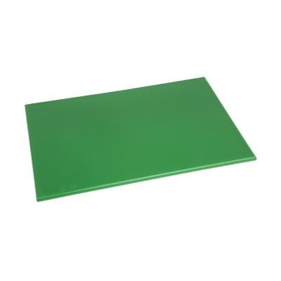 Tabla de corte de alta densidad estandar verde Hygiplas j012