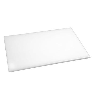 Tabla de corte de alta densidad estandar blanca Hygiplas j016