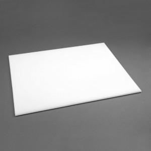 Tabla de corte de alta densidad grande blanca Hygiplas j017