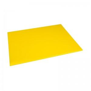 Tabla de corte de alta densidad grande amarilla Hygiplas j021